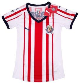 2e639834b22 Jersey Chivas Mujer - Jerseys Clubes Nacionales Chivas en Mercado Libre  México