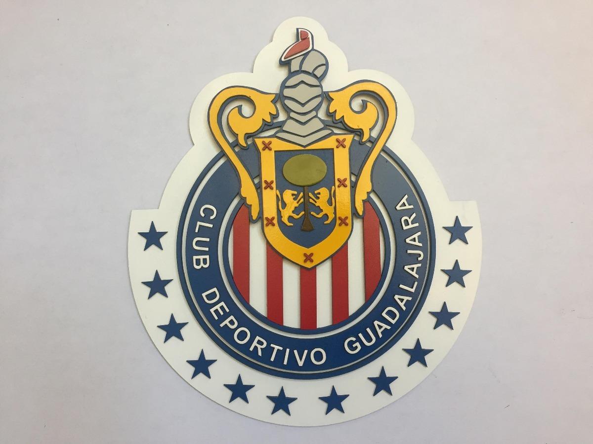 Chivas Del Guadalajara Logo En Madera Mdf 65000 En Mercado Libre