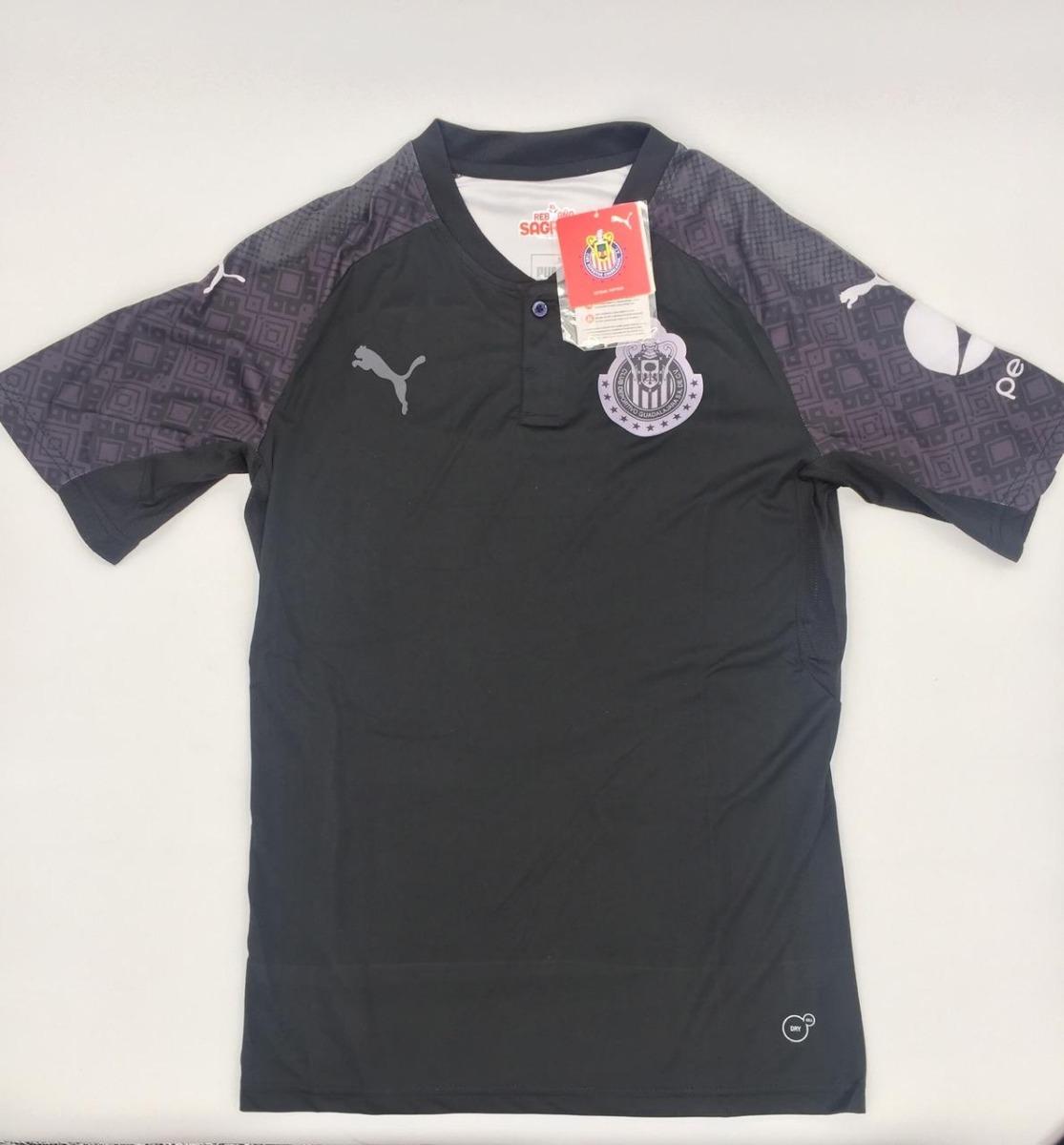 Chivas Guadalajara Visita 2017-2018 Jersey Camiseta -   420.75 en ... fbf32ce1e45f