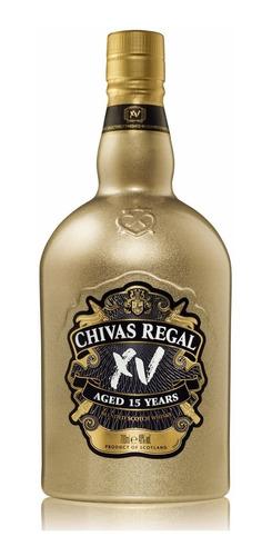 chivas regal xv gold whisky escoces 15 años
