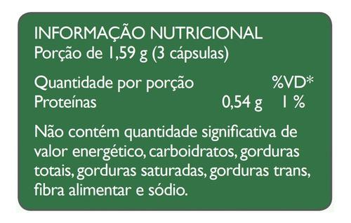 chlorella fonte de clorofila 530mg 60 cápsulas - sunflower