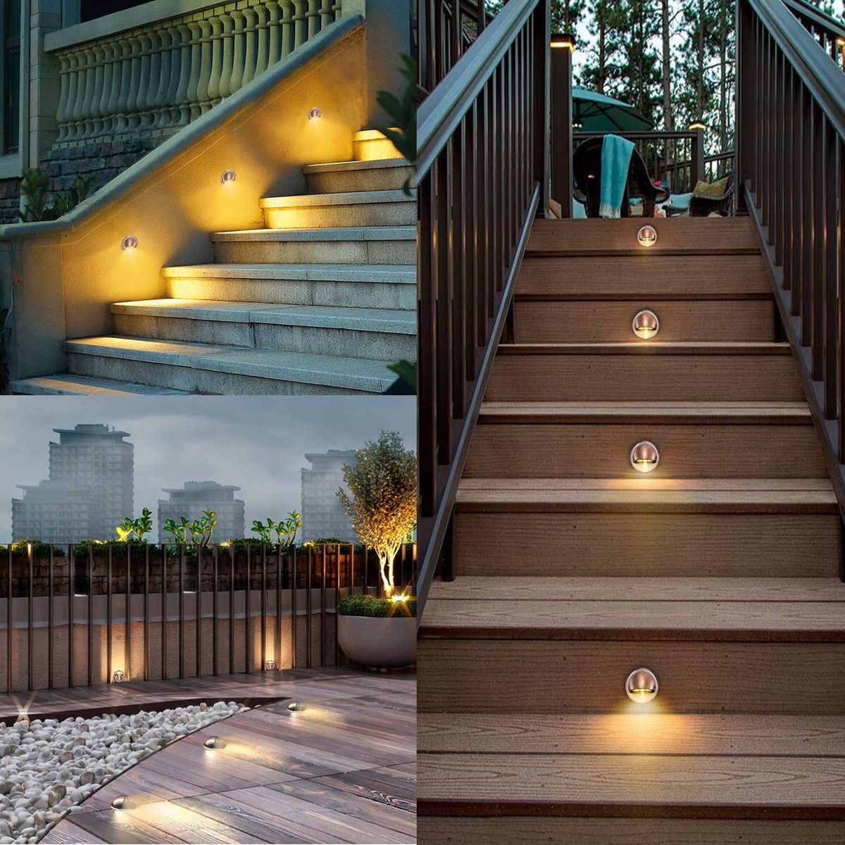 Chnxu Low Voltage Led Deck Lighting Kits With Transformer 1 296 900 En Mercado Libre