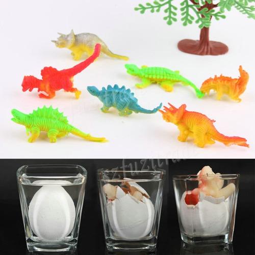 choca ovo dinossauro tamanho grande divertido cresce na água