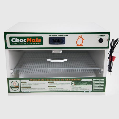 chocadeira automática 110 a 120 ovos + ovoscópio