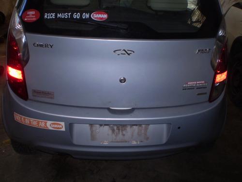 chocados 2 autos chery face comfort 2010 y 2009 al dia