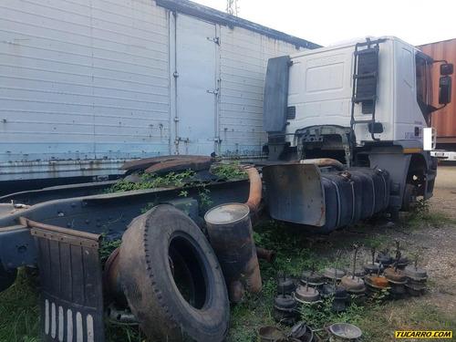 chocados camiones .