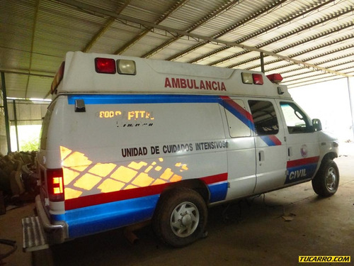 chocados ford ambulancia