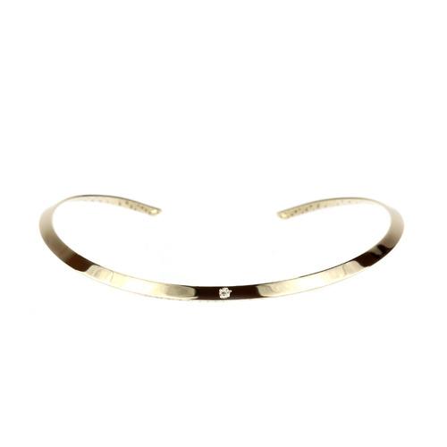 chocker dourada ponto de luz - cl020068