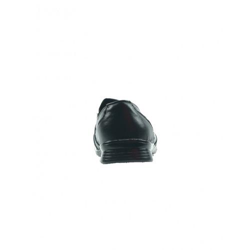 choclo casual piel negro marca chuyitos