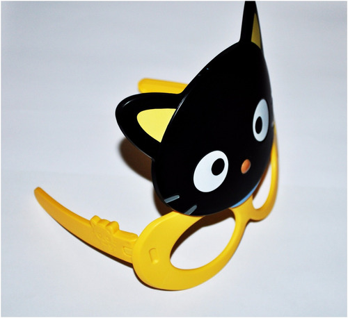 chococat coleccion juguete mcdonals 2016 anteojo kitty usado