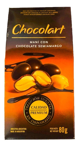 chocolart mani chocolate amargo - barata la golosineria