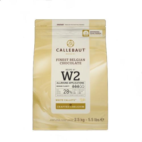 chocolate belga premium callebaut blanco w2  x 2.5kg