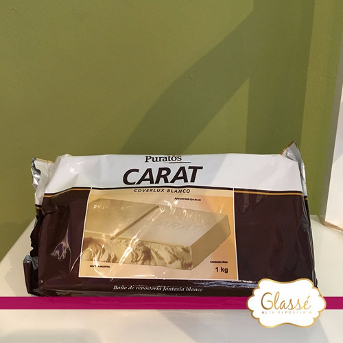 chocolate carat coverlux blanco