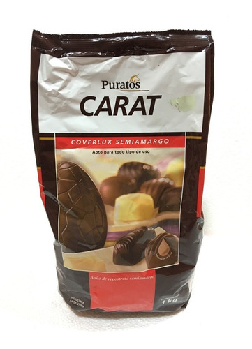 chocolate carta coberlux semi amargo 1kg