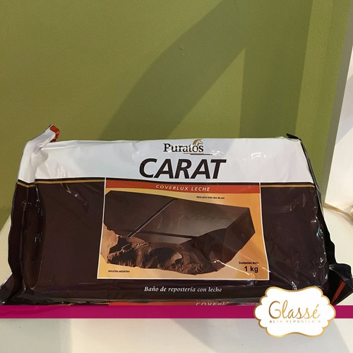 chocolate con leche carat coverlux - 1 kg