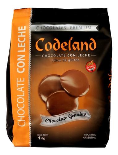 chocolate con leche codeland x 1kg
