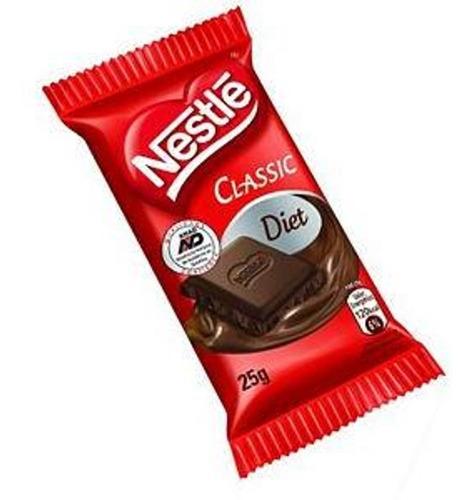 chocolate diet classic ao leite 25g c/22 - nestlé
