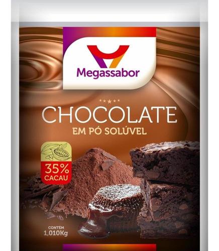 chocolate em pó megasabor 35% 1,01kg