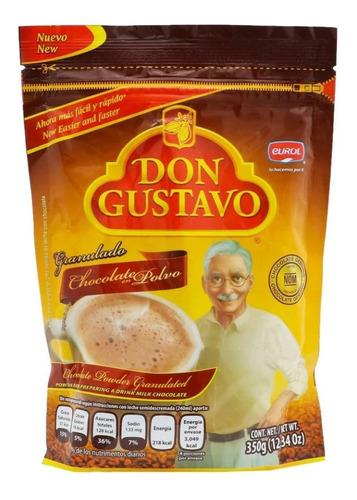 chocolate en polvo don gustavo granulado 350 g