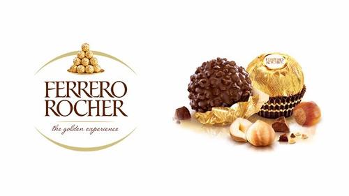 chocolate ferrero rocher bombons 5 bandeijas