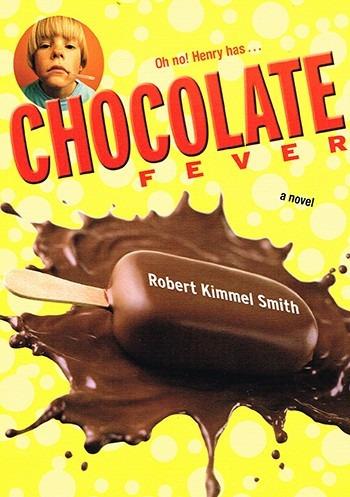 chocolate fever - robert kimmel smith - puffin - rincon 9