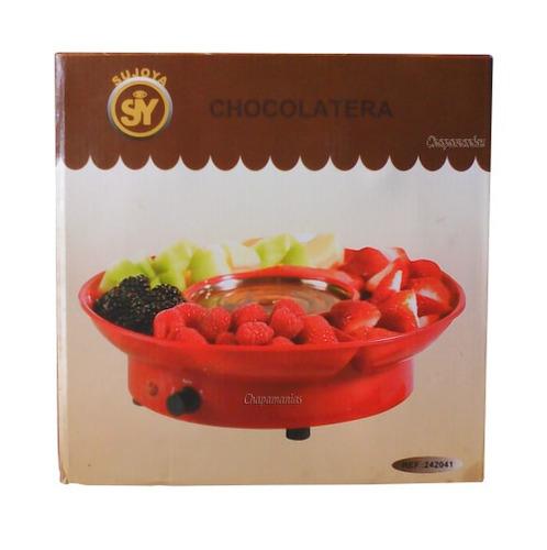 chocolate. fondue fuente