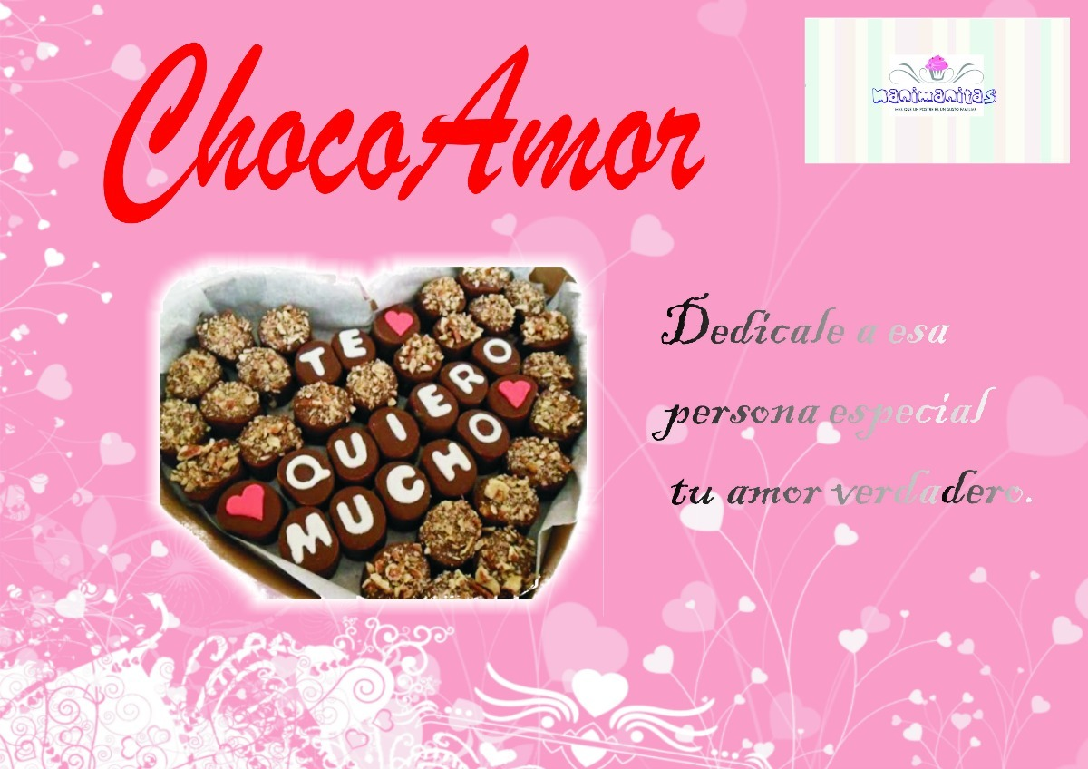 Chocolate Frases De Amor Personalizados Manimanitas