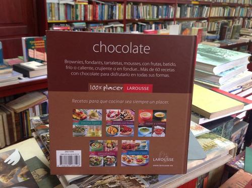 chocolate. larousse. 100% placer.