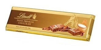 chocolate lindt leche 300 gramos