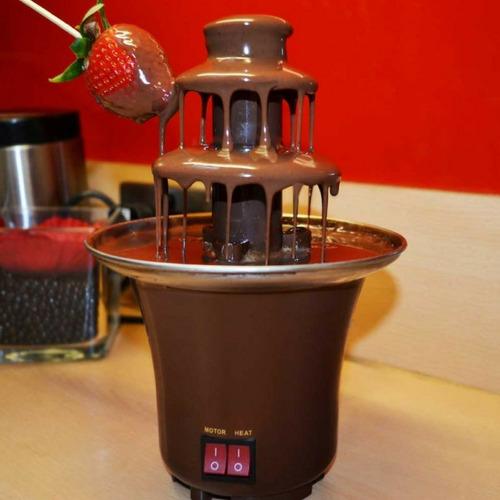 chocolate maquina cascata