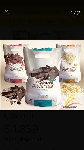 chocolate moldatte x 1kg