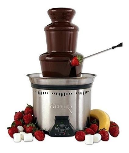 chocolate para fuente