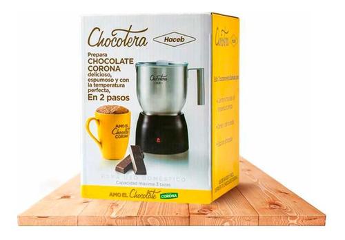 chocolatera electrica automatica jarra haceb corona premium