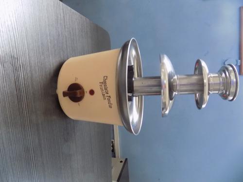chocolatera fountain