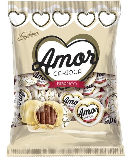 chocolates amor carioca blanco bolsa kilo - kg a $1