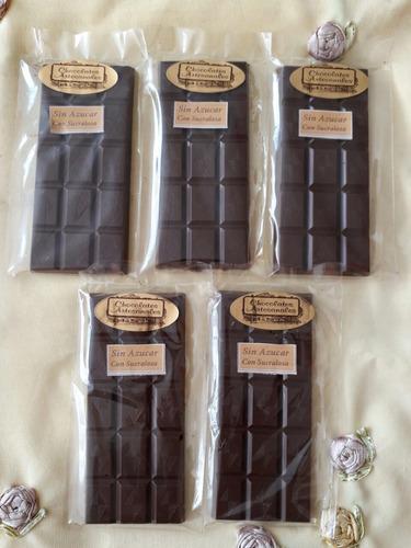 chocolates artesanales sin azucar