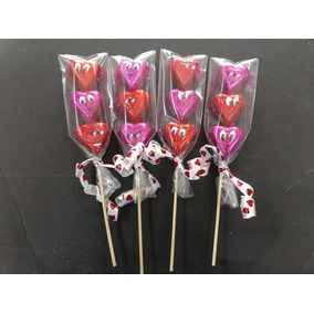Banderillas De Chocolates San Valentín Paquete 15 Piezas