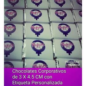 Chocolates Corporativos Con Etiqueta Pe - kg a $950