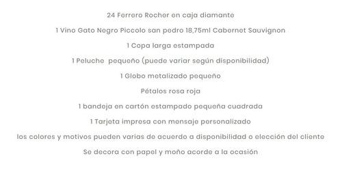 chocolates ferrero en ancheta sorpresa romántica bogotá hoy!
