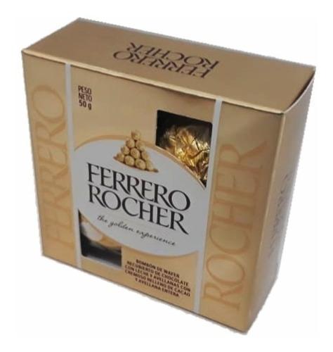 chocolates ferrero rocher 4 uni - kg a $2