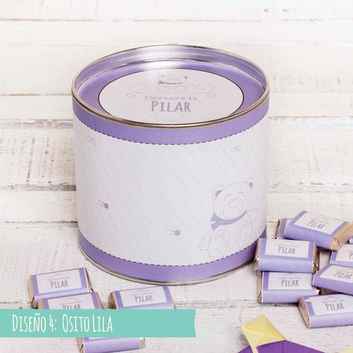 chocolates personalizados caja x 50 unidades