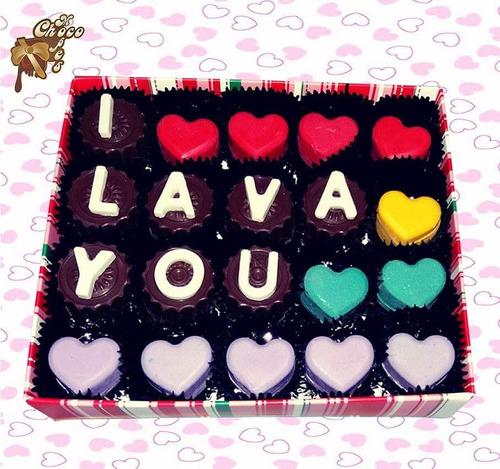 chocolates personalizados - listos para regalo y sorprender