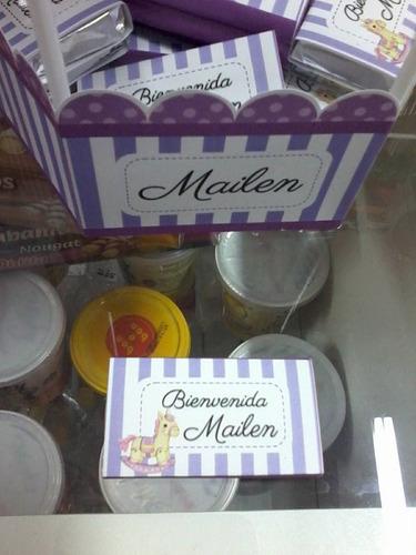 chocolates personalizados para nacimiento