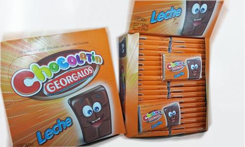 chocolatin georgalos 40un oferta - muy barata la golosineria