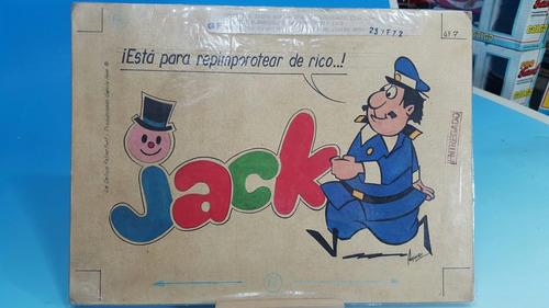 chocolatin jack- hijitus- antiguo boceto original publicidad