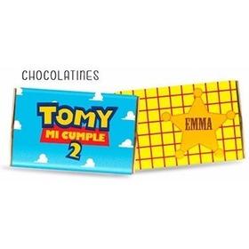 Chocolatines Personalizados De Los Toy Story X10