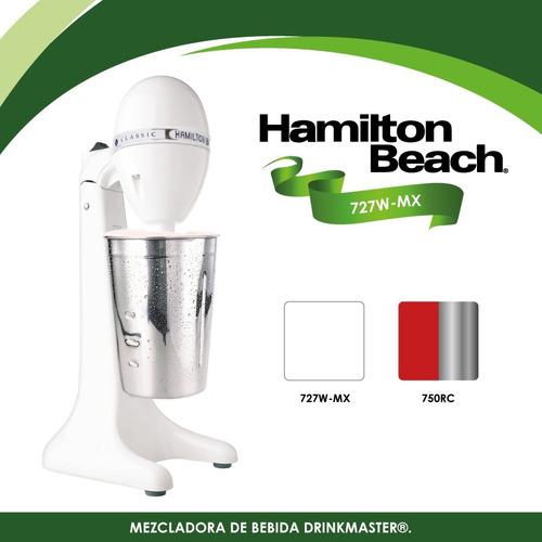 chocomilera esquimera fuente sodas blanca hamilton beach 727