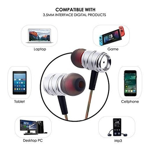 choetech auriculares in ear headphone auriculares de musica