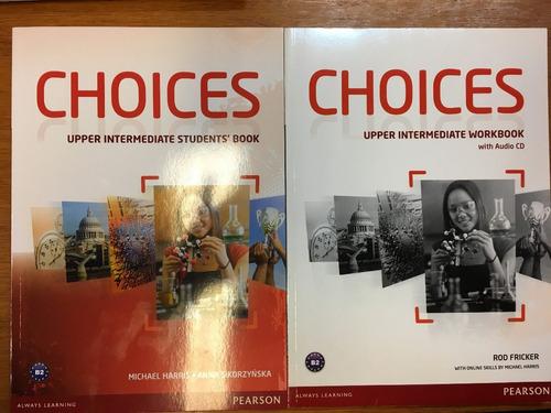 choices upper intermediate student s book & workbook pearson