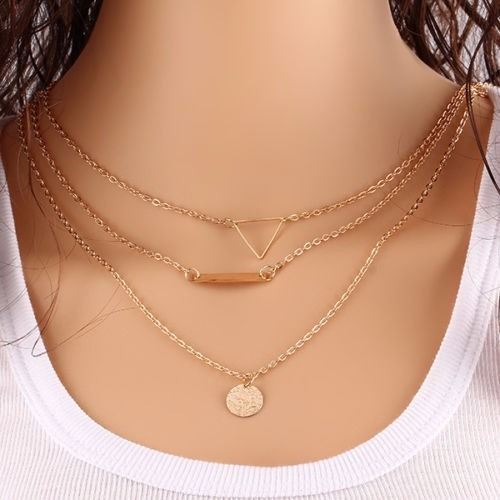 choker collar necklace charm jewelry statement mujer no.10